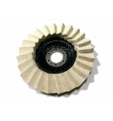 Diskas, poliravimui, 18mm, Ø125mm, 22.2mm, 6100rpm