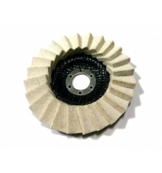 Disk, poliravimui, 18mm, Ø125mm, 22.2mm, 6100rpm