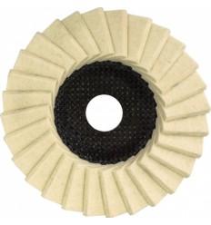 , poliravimui, 22mm, Ø125mm, 22.23mm, 12200rpm