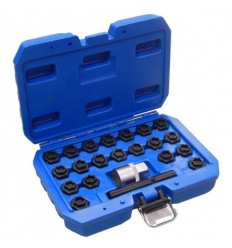 BMW locking wheel nut socket setet set