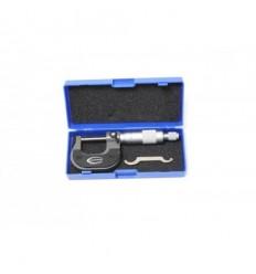 Mikrometras, 0-25mm, ±0.01mm