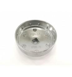 Galvutė tepalo filtrui (903-6), aliuminė, 1/2`, 75mm, 12 dant.
