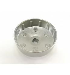 Galvutė tepalo filtrui, aliuminė, 1/2`, 76mm, 12 dant.