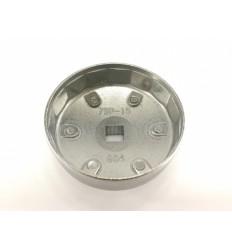 Galvutė tepalo filtrui (904), aliuminė, 1/2`, 79mm, 15br.