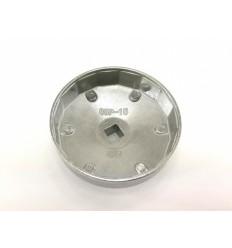 Galvutė tepalo filtrui (907), aliuminė, 1/2`, 89mm, 15br.