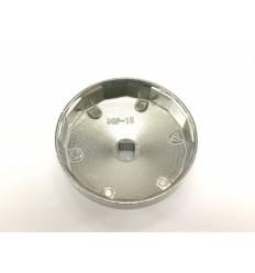 Galvutė tepalo filtrui (915), aliuminė, 1/2`, 90mm, 15br.