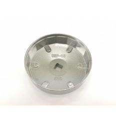 Galvutė tepalo filtrui (910), aliuminė, 1/2`, 95mm, 15br.