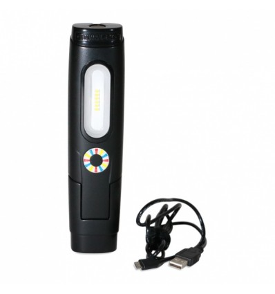 Lempa, įkraunama, D2 PRO, SMD LED, 7.2W, 250Lm, 230V, IP54