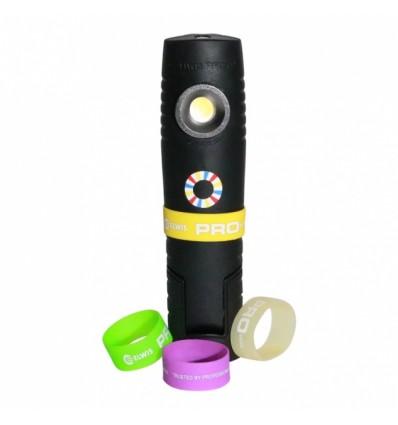 Lempa, įkraunama, D6 PRO, SMD LED, 3W, 250Lm, 230V, IP65
