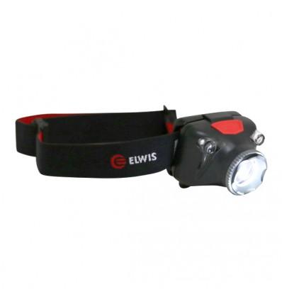 Lempa ant galvos, įkraunama / elementai, H4 PRO, CREE LED, 5W, 410Lm, USB 5V, IP45 / III