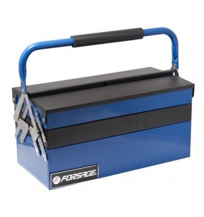 Įrankių dėžė, metalinė, 5 skyrių, 420mm, 210mm, 210mm