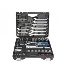 Tools Set, 82+6d., 1/4`, 1/2`, 6br., (4-32mm)