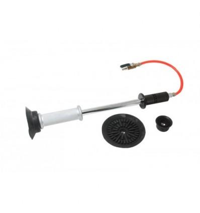 Atbulinis plaktukas su vakuuminiu pritraukimu, pneumatinis