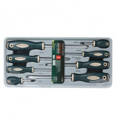 Screwdrivers Set, 8d., Phillips Slotted