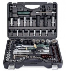 Tools Set, 108+6d., 1/4`, 1/2`, 6br., Star, (4-32mm, E4-E24)