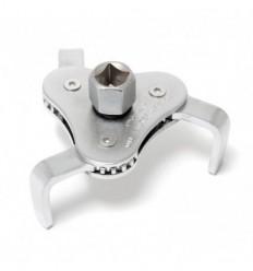 Tepalo filtro raktas, 63-102mm, suspaudžiamas, 3-kojų, 1/2`