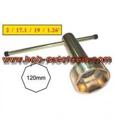 Galvutė / raktas, 8br., 120mm, Mitsubishi