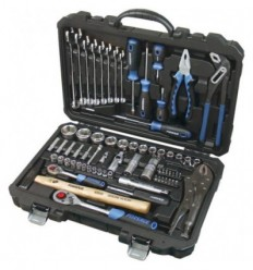 Tools Set, 72d., 1/4`, 1/2`, 6br., (4-32mm)