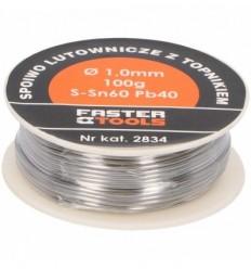 Lydmetalis su fliusu Ø 2.0mm 100g