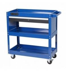 Įrankių vežimėlis, 3 lentynos, 1 stalčius