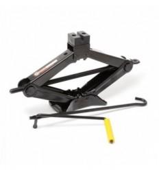 Domkratas, mechaninis, rombas, 2t, 110mm, 395mm, su apsaugine guma