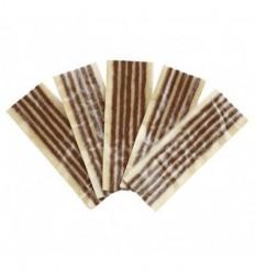 Klijavimo virvučių rudų komplektas (25vnt), 6mm, L-200mm