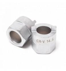 Galvutė amortizatoriams, 2br.-3.5mm, 12.5, L-30mm, Hex 22mm