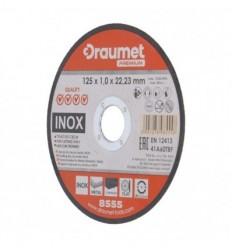 Diskas, pjovimui, 1.0mm, Ø125mm, 22.23mm, 12250rpm