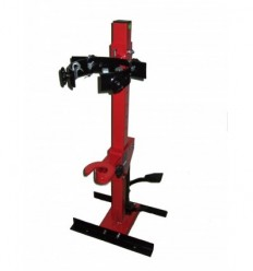 Sąvarža spyruoklėms hidraulinė, su kabliais, 210-570mm, hidraulinė, 1000kg
