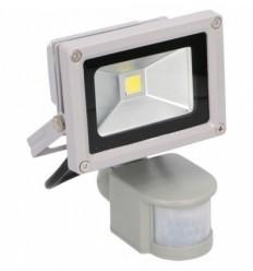 LED prožektorius (10W) su judesio jutikliu, 230V