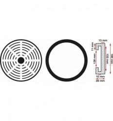 Guminis padas Ø 160 mm, 28mm