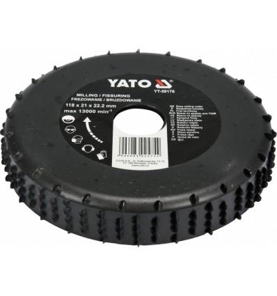 Diskas/freza medžiui, 21mm, Ø118mm, 13000 / min