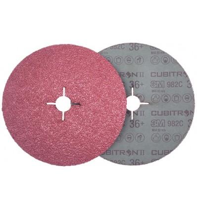 Šlifavimo popieriaus Cubitron, diskas, Nr.36, Ø125mm, priveržiamas
