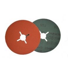 Šlifavimo popieriaus Cubitron, diskas, Nr.60, Ø125mm, priveržiamas